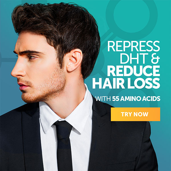 Reduce Hair Loss with 55 Amino Acids