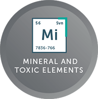 Minerals and Toxic Elements