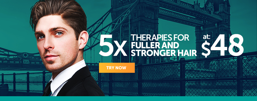 5x Therapies for Fuller and Stronger Hair at $148