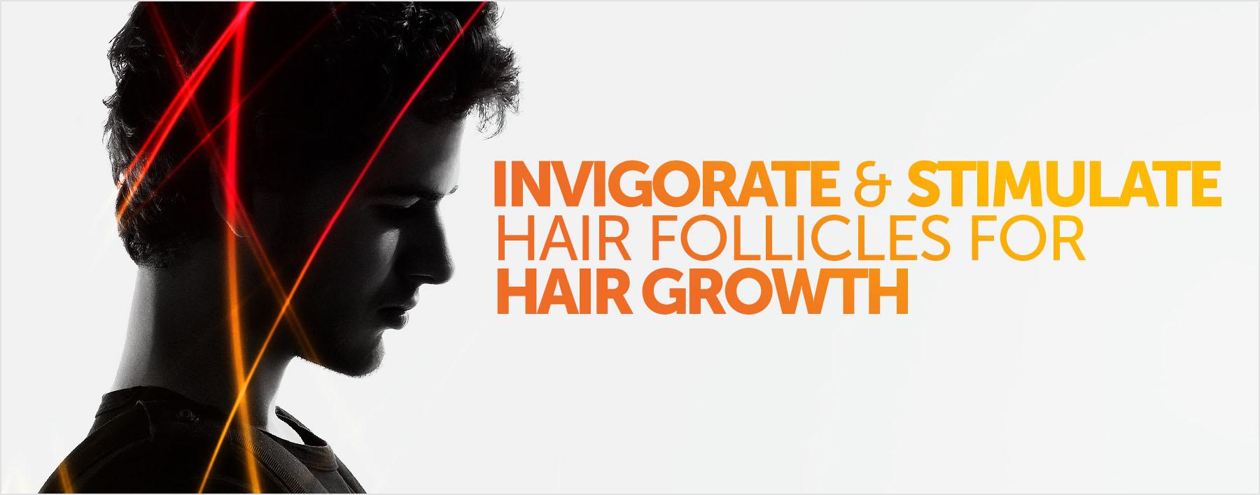 Stimulate Hair Follicles for Hair Growth