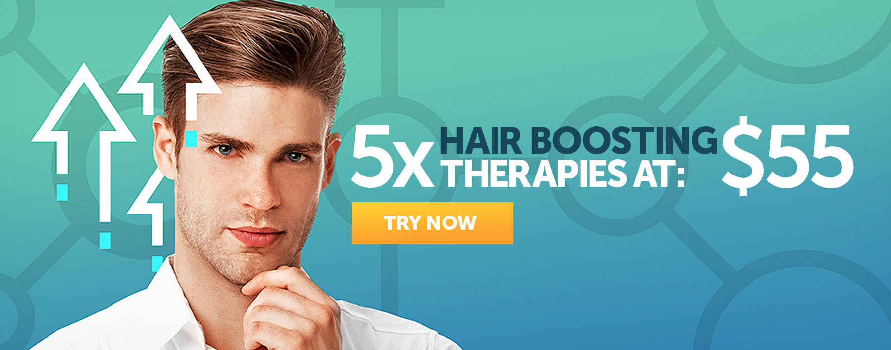 5 Hair Booster Therapies at $55