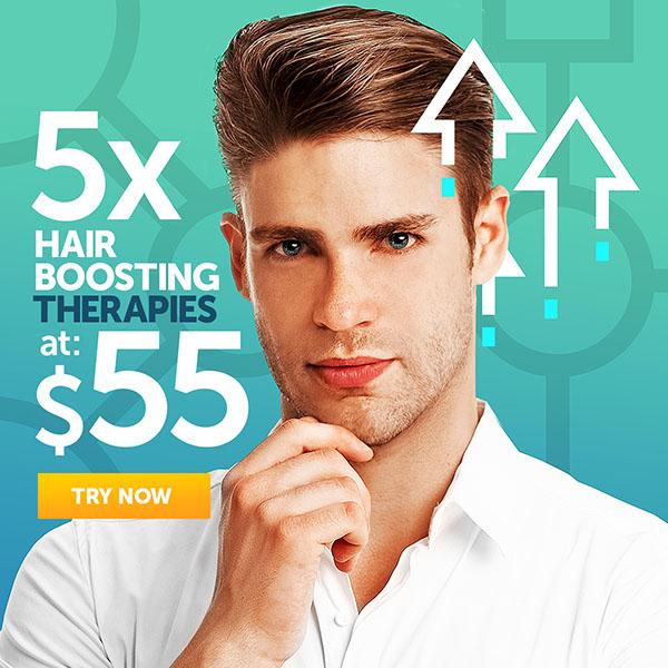 5 Hair Boosting Therapies at $55