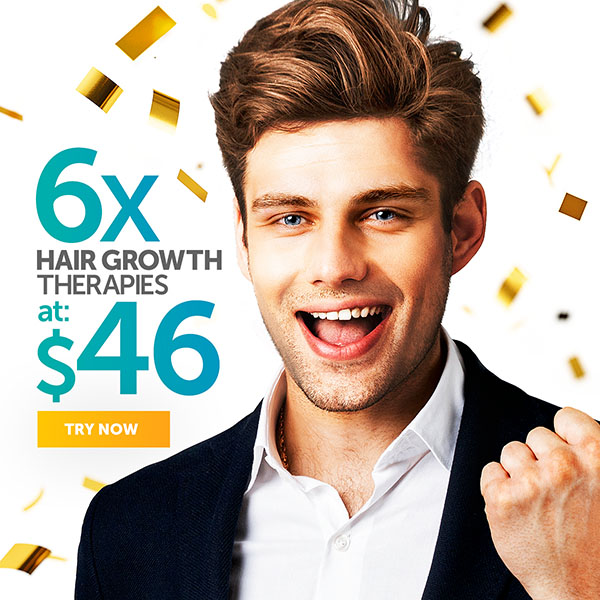 6x Hair Growth Therapies at $46
