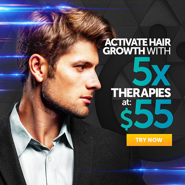 Activate Hair Growth with 5 Therapies