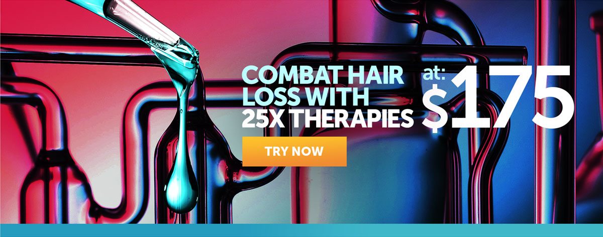 Combat Hair Loss with 5 Therapies