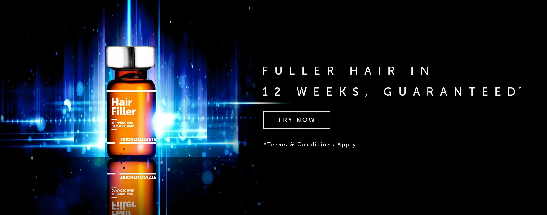 Thicker hair with Svenson Hair filler treatment
