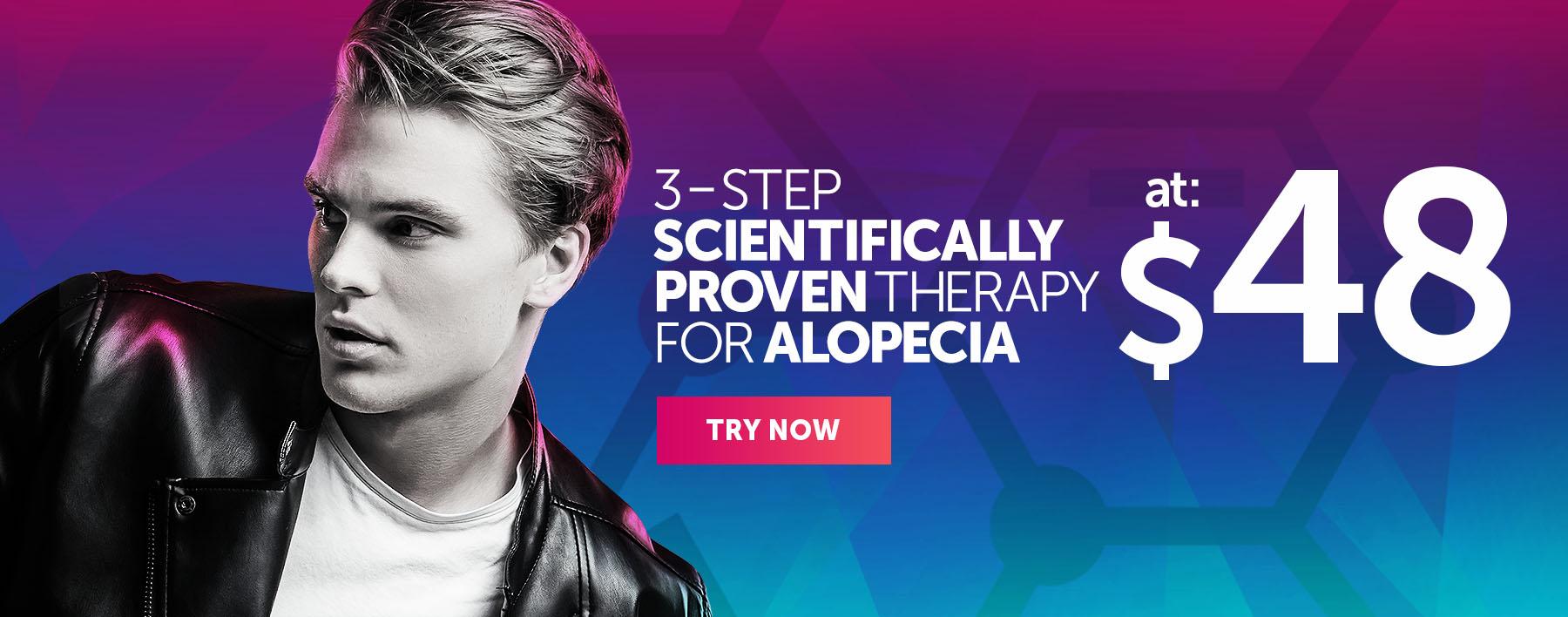 Scientifically Proven Therapy for Alopecia