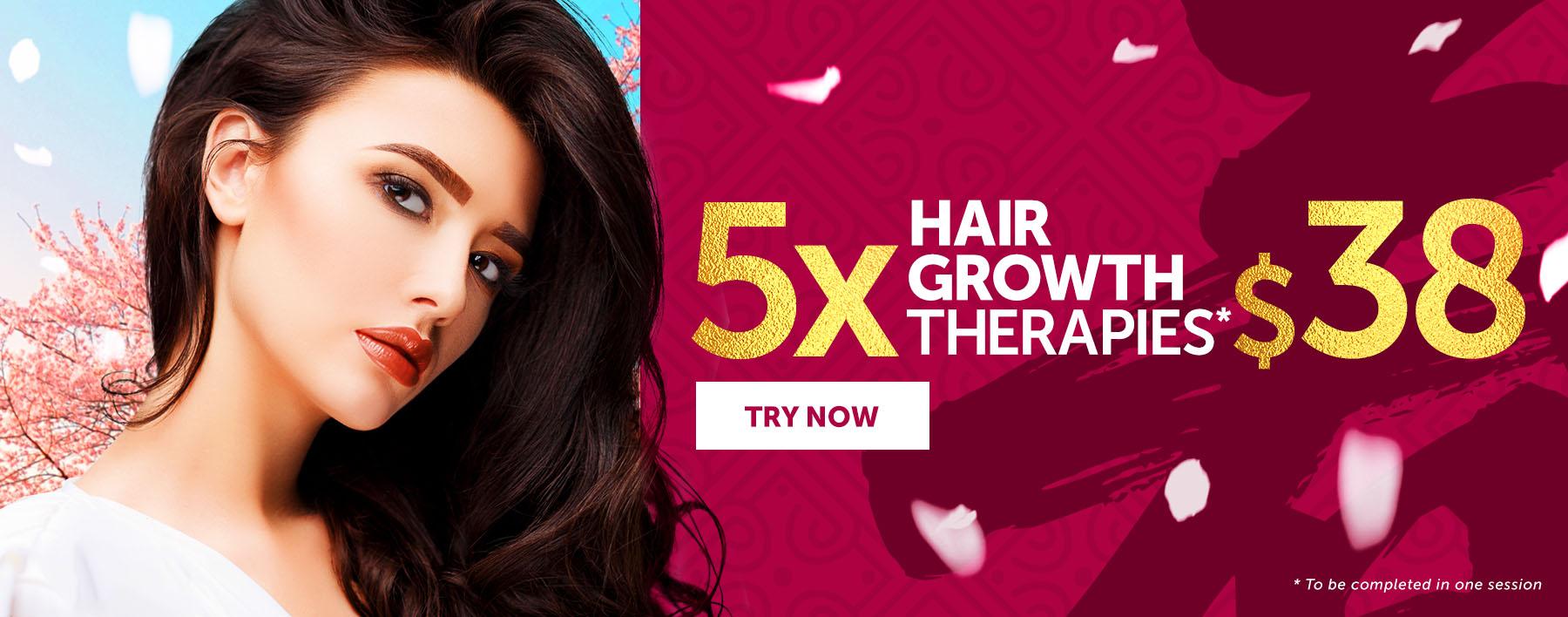 5 Hair Therapies at $38