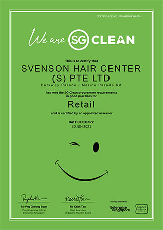 Our Parkway Parade center is SG Clean certified!